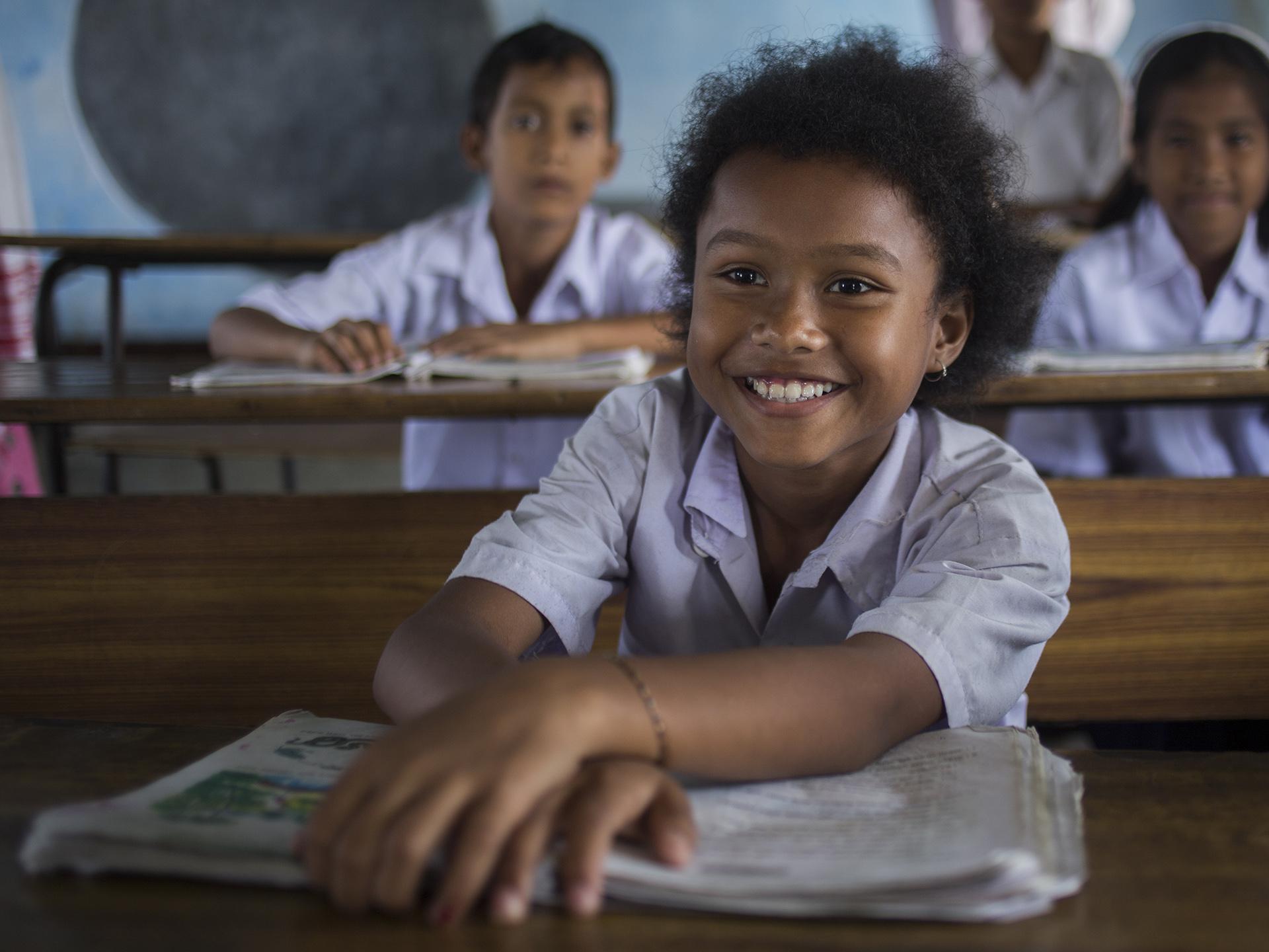 Transformative leadership for girls' education