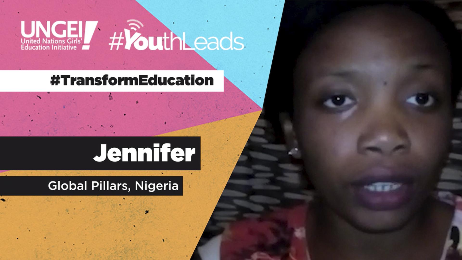 Jennifer, Global Pillars, Nigeria