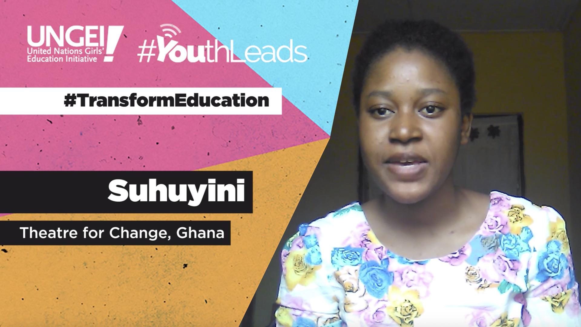 Suhuyini, Theatre for Change, Ghana