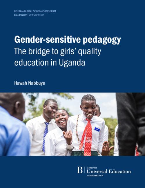 Gender-sensitive pedagogy