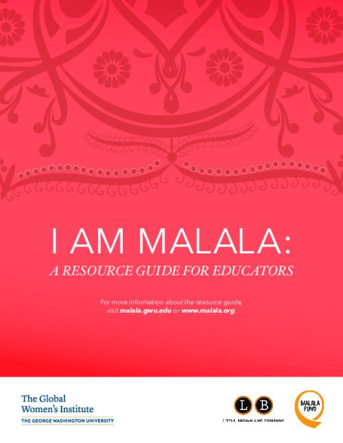 I Am Malala: A resource guide for educators