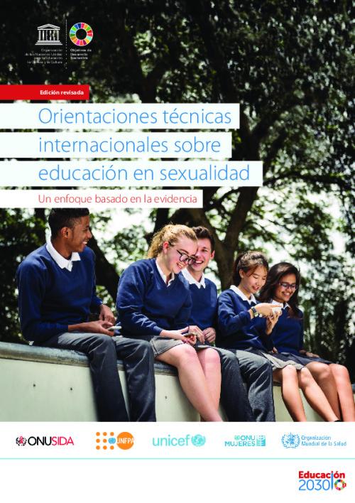 Orientaciones técnicas internacionales sobre educación en sexualidad