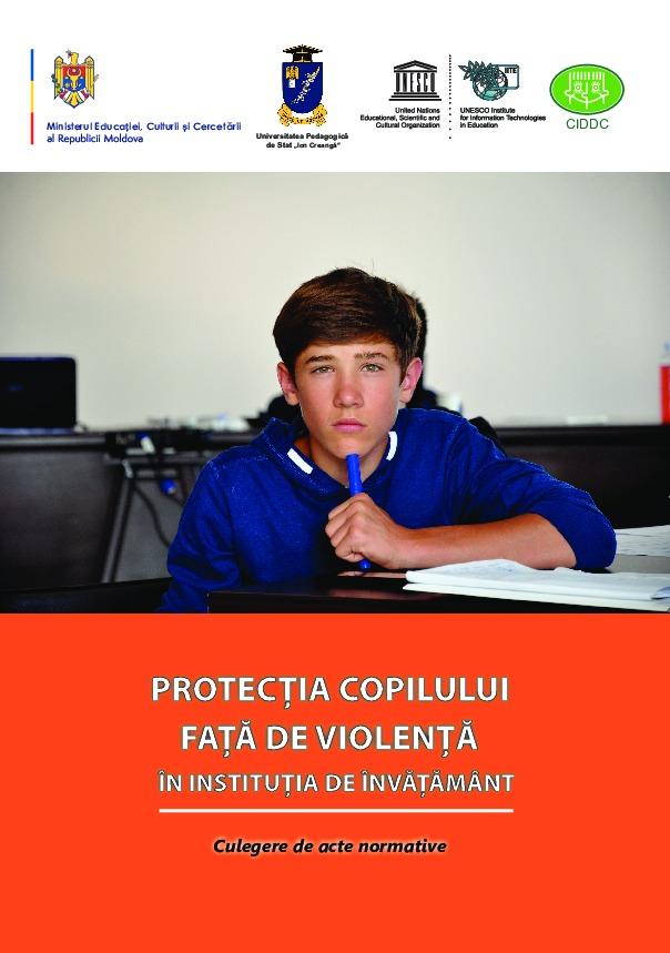 Protecţia copilului faţă de violență în instituția de învățământ