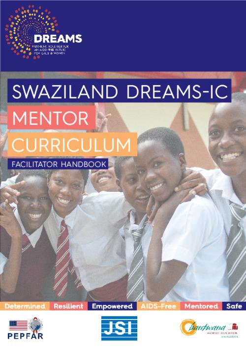 Swaziland Dreams-IC: Mentor curriculum – facilitator handbook